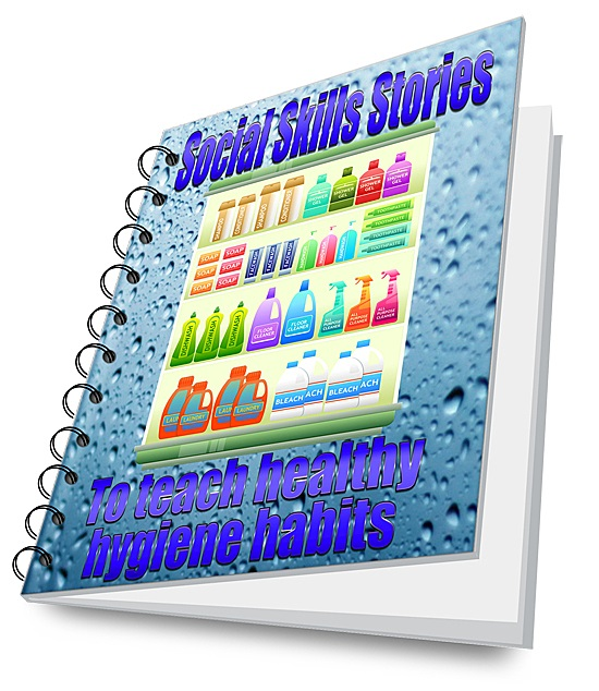 Autism Social Stories for Chilren with Autism,100 Social Stories,Autism Social Stories for Teenage Hygiene,Autism Social Stories for Hygiene